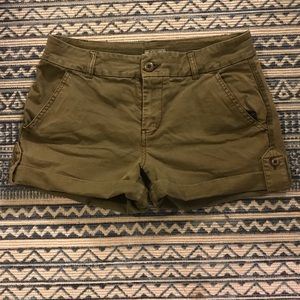 Lucky Brand Olive Green Shorts, Size 6